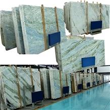 Lemon Ice Blue Translucent Quartzite Wholesales