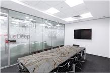 Blue Deep Quartzite Table Top- New Material