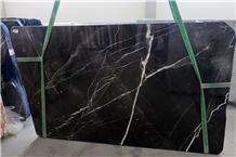 Calacatta Black Marble Slabs