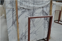 Milas Lilac White Marble Wall Floor Tiles Slabs