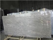 China Juparana Gold/ Wave Gold Granite Slabs &Tile