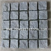 Dark Grey Sawn Driveway Granite Setts Block Paving