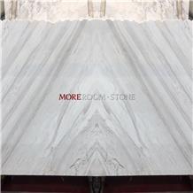 Volakas Book Match White Marble Veneer