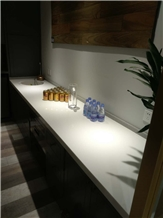 Crystallied Nano Stone Bar Top in Hotel and Club