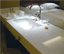 Custom Nano Crystallized Stone Vanity Tops