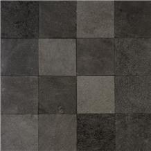 Black Basalt Lava Stone Tiles Pool Pavers