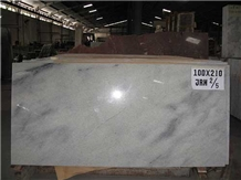 Indonesia White Crystaline Marble Slabs