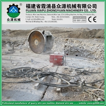 55kw/75hp Quarry Wire Saw Machine
