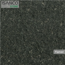 Flamed Paving Stone Night Stars Black Granite