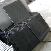 New G654 Black Granite Tiles Exterior Stone Wall