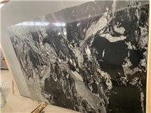 Cheapest Cosmos Black Polishing Granite Slabs