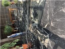 Cosmic Black Granite Tiles for Flooring Covering