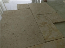 Classic Beige Limestone Tiles and Pattern