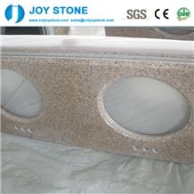 Cheap Polsihed G682 Granite Bathroom Vanity Top