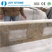Golden Diamond Granite Polish Vanity Top for Sale