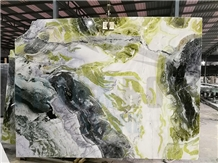 China Green Wizard Of Oz Marble Slab