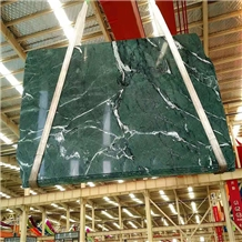 Polished Formosa Green Marble Interior Slabs Tiles