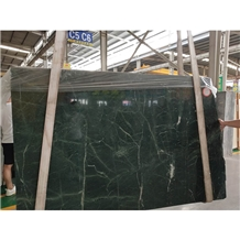 Polished Formosa Green Marble Slabs Tiles