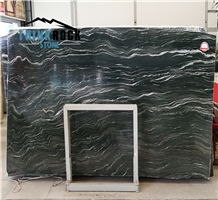Verde Tropical Green Marble Slabs for Projects