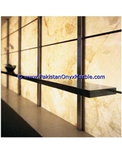 Backlit Onyx Walls Panels