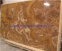 Multi Brown Golden Onyx Slabs