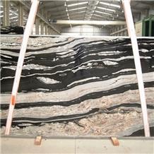 Brazil Black Copacabana Granite Slab