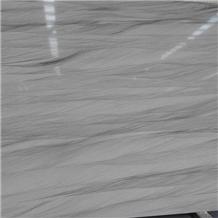 Polished Silver Shadow Quartzite Slab