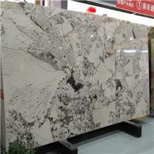 White Copenhagen Granite Slab