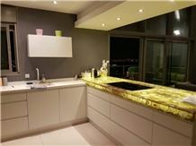 Luxury Agate Stone Kitchen Countertops