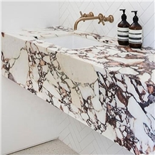 Purple Calacatta Bathroom Countertops
