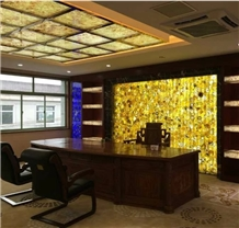 Semi Precious Agate Stone Panels for Feature Wall