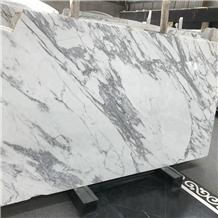Statuario Caldia White Marble Slabs