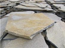 Brown Quartzite Flagstone