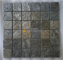 Deoli Green Quartzite Slate Mosaic