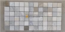 Himachal White Quartzite Mosaic