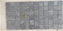 Jak Black Slate Mosaic Tiles