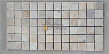 Mint Sandstone Mosaic Tiles