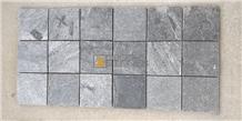 Silver Grey Quartzite Mosaic Tiles