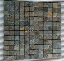 Zeera Green Quartzite Mosaic