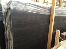 Black Armani Marble Slabs & Walling Flooring Tiles