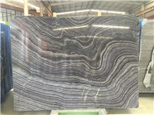 Black Fantasy Marble Slabs & Walling Flooring Tile