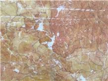 Cheap Chinese Karen Gold Marble Slabs Tiles Price