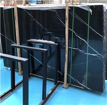 Cheap Toros Black Marble Slabs & Floor Tiles Price