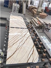 Cheap Turkey Dragon Gold Marble Slabs Tiles Price