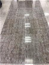 Da Vinci Brown Wooden Marble Wall Flooring Tiles
