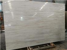 Eurasian White Wood Marble Slabs & Wall Floor Tile