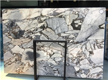 Galaxy White Marble Slabs & Walling Flooring Tiles