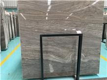 Imperial Royal Wood Grain Marble Slabs, Floor Tile
