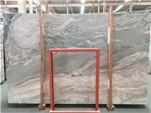 Jade Green Cloud Marble Slabs & Wall Flooring Tile
