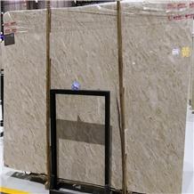 Malaysia Bisaya Beige Marble Slabs Flooring Tile